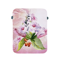 Wonderful Flowers, Soft Colors, Watercolor Apple Ipad 2/3/4 Protective Soft Cases by FantasyWorld7