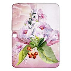 Wonderful Flowers, Soft Colors, Watercolor Samsung Galaxy Tab 3 (10 1 ) P5200 Hardshell Case  by FantasyWorld7