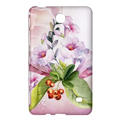 Wonderful Flowers, Soft Colors, Watercolor Samsung Galaxy Tab 4 (8 ) Hardshell Case  by FantasyWorld7