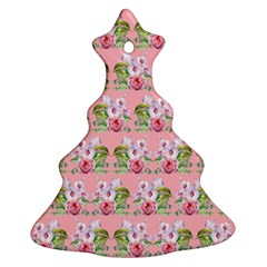Floral Pattern Ornament (christmas Tree)  by SuperPatterns