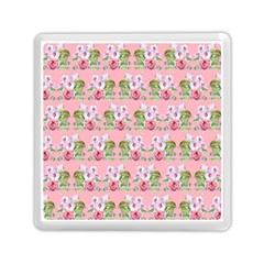 Floral Pattern Memory Card Reader (square)  by SuperPatterns