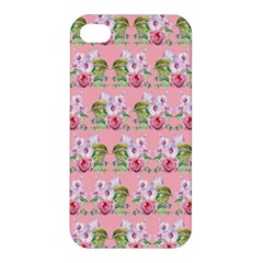 Floral Pattern Apple Iphone 4/4s Hardshell Case by SuperPatterns