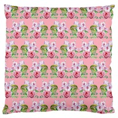 Floral Pattern Large Cushion Case (one Side) by SuperPatterns
