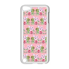 Floral Pattern Apple Ipod Touch 5 Case (white) by SuperPatterns