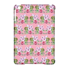 Floral Pattern Apple Ipad Mini Hardshell Case (compatible With Smart Cover) by SuperPatterns