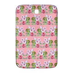 Floral Pattern Samsung Galaxy Note 8 0 N5100 Hardshell Case  by SuperPatterns