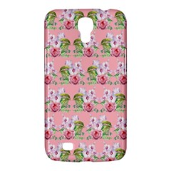 Floral Pattern Samsung Galaxy Mega 6 3  I9200 Hardshell Case by SuperPatterns