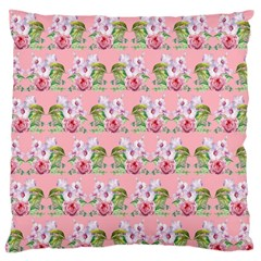 Floral Pattern Standard Flano Cushion Case (one Side) by SuperPatterns