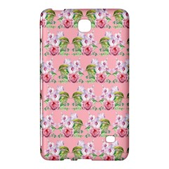 Floral Pattern Samsung Galaxy Tab 4 (8 ) Hardshell Case  by SuperPatterns