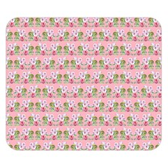 Floral Pattern Double Sided Flano Blanket (small)  by SuperPatterns