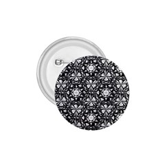 Star Crystal Black White 1 And 2 1 75  Buttons by Cveti