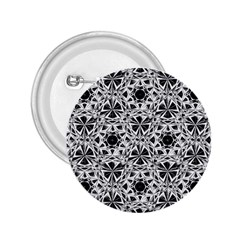 Star Crystal Black White 1 And 2 2 25  Buttons by Cveti