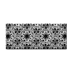Star Crystal Black White 1 And 2 Cosmetic Storage Cases by Cveti