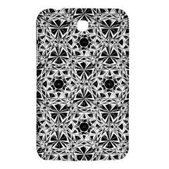 Star Crystal Black White 1 And 2 Samsung Galaxy Tab 3 (7 ) P3200 Hardshell Case  by Cveti