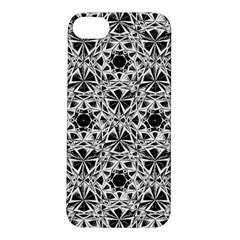 Star Crystal Black White 1 And 2 Apple Iphone 5s/ Se Hardshell Case by Cveti