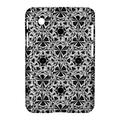 Star Crystal Black White 1 And 2 Samsung Galaxy Tab 2 (7 ) P3100 Hardshell Case  by Cveti