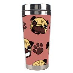 Happy Pugs Stainless Steel Travel Tumblers