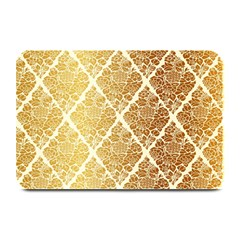 Vintage,gold,damask,floral,pattern,elegant,chic,beautiful,victorian,modern,trendy Plate Mats by 8fugoso