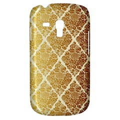 Vintage,gold,damask,floral,pattern,elegant,chic,beautiful,victorian,modern,trendy Galaxy S3 Mini by 8fugoso