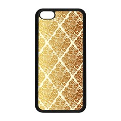 Vintage,gold,damask,floral,pattern,elegant,chic,beautiful,victorian,modern,trendy Apple Iphone 5c Seamless Case (black) by 8fugoso
