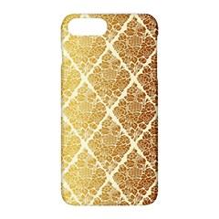 Vintage,gold,damask,floral,pattern,elegant,chic,beautiful,victorian,modern,trendy Apple Iphone 8 Plus Hardshell Case by 8fugoso