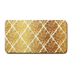 Vintage,gold,damask,floral,pattern,elegant,chic,beautiful,victorian,modern,trendy Medium Bar Mats by 8fugoso