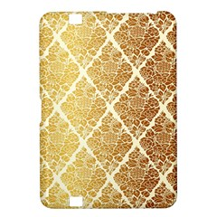 Vintage,gold,damask,floral,pattern,elegant,chic,beautiful,victorian,modern,trendy Kindle Fire Hd 8 9  by 8fugoso