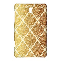 Vintage,gold,damask,floral,pattern,elegant,chic,beautiful,victorian,modern,trendy Samsung Galaxy Tab S (8 4 ) Hardshell Case  by 8fugoso