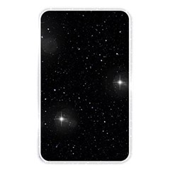 Starry Galaxy Night Black And White Stars Memory Card Reader by yoursparklingshop