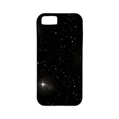 Starry Galaxy Night Black And White Stars Apple Iphone 5 Classic Hardshell Case (pc+silicone) by yoursparklingshop