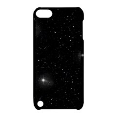 Starry Galaxy Night Black And White Stars Apple Ipod Touch 5 Hardshell Case With Stand
