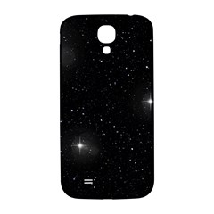 Starry Galaxy Night Black And White Stars Samsung Galaxy S4 I9500/i9505  Hardshell Back Case by yoursparklingshop