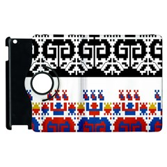 Bulgarian Folk Art Folk Art Apple Ipad 3/4 Flip 360 Case by Celenk