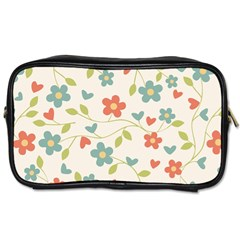 Abstract Art Background Colorful Toiletries Bags by Celenk