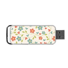 Abstract Art Background Colorful Portable Usb Flash (two Sides) by Celenk