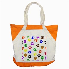 Pawprints Paw Prints Paw Animal Accent Tote Bag by Celenk