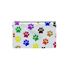 Pawprints Paw Prints Paw Animal Cosmetic Bag (small)  by Celenk