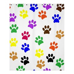 Pawprints Paw Prints Paw Animal Shower Curtain 60  X 72  (medium)  by Celenk