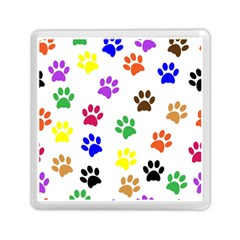 Pawprints Paw Prints Paw Animal Memory Card Reader (square)  by Celenk