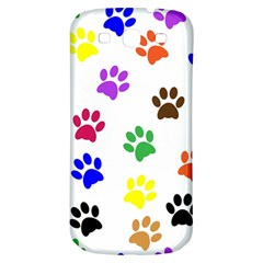 Pawprints Paw Prints Paw Animal Samsung Galaxy S3 S Iii Classic Hardshell Back Case by Celenk