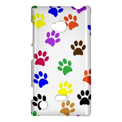 Pawprints Paw Prints Paw Animal Nokia Lumia 720 by Celenk