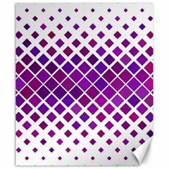 Pattern Square Purple Horizontal Canvas 20  X 24   by Celenk