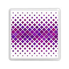 Pattern Square Purple Horizontal Memory Card Reader (square)  by Celenk