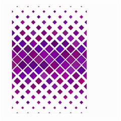 Pattern Square Purple Horizontal Large Garden Flag (two Sides) by Celenk