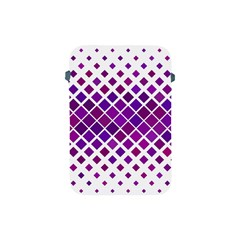 Pattern Square Purple Horizontal Apple Ipad Mini Protective Soft Cases by Celenk