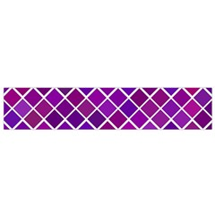 Pattern Square Purple Horizontal Small Flano Scarf by Celenk