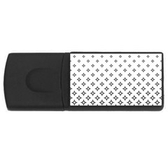 Star Pattern Decoration Geometric Rectangular Usb Flash Drive by Celenk