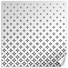 Star Pattern Decoration Geometric Canvas 12  X 12   by Celenk