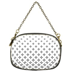 Star Pattern Decoration Geometric Chain Purses (one Side)  by Celenk