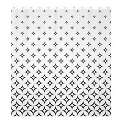 Star Pattern Decoration Geometric Shower Curtain 66  X 72  (large)  by Celenk